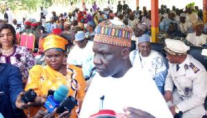 Le ministre en charge de l'Économie (Minepat), Alamine Ousmane Mey