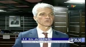 Erci Jacquemin, Ambassadeur de Belgique