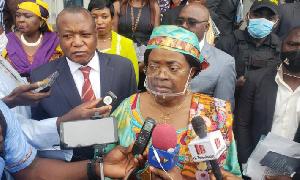 Le ministre Libom Likeng