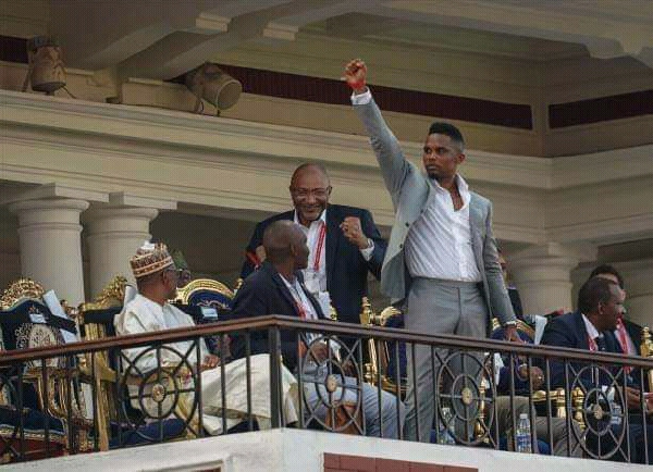 Samuel Eto'o en véritable Président de la Fecafoot