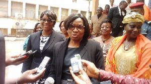 Pauline Irène Nguene, ministre des Affaires sociales