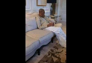 Marcel Niat Njifenji depuis la France ou il serait allé pour une visite médicale