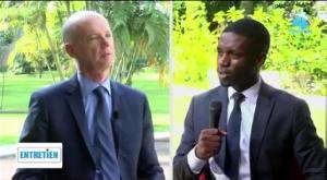 Christophe Guilhou, l'ambassadeur de France au Cameroun en interview sur Vision 4