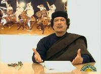 Mouammar Kadhafi, l'ex président lybien