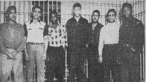 Un groupe d'hommes noirs gracié à titre posthume