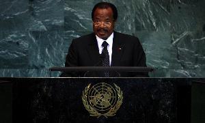 Paul Biya à une Assemblée des Nations unies