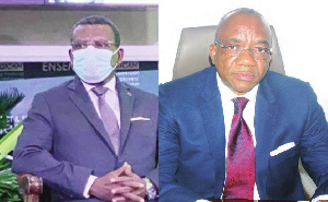 Celestin Tawamba a reçu le chef du gouvernement