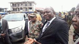 Bernard Okalai Bilai, le gouverneur de la région du Sud-Ouest
