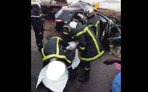Le bilan fait état de 02 victimes gravement blessées et 03 victimes décédées