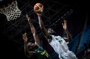 Afrobasket Nigeria Vs Cameroon  Quarts