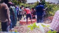 Le corps a de nouveau été inhumé par les équipes du ministère de la Santé