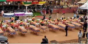 51 dépouilles de l'hécatombe ont été inhumées dans une fosse commune
