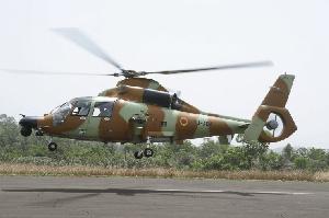 Un hélicoptère de l'armée de l'air camerounaise