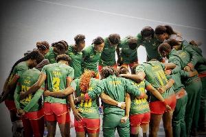 Equipe femine de Handball