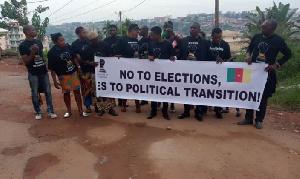 Marche de protestation contre une élection au Cameroun (archives)