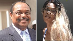 Chantal Ayissi et Gregoire Owona
