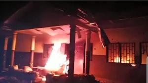 Incendie de la gendarmerie de Tolong