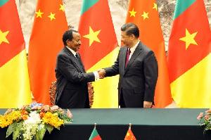 Paul Biya et Xi Jinping
