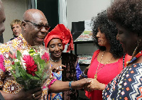 Manu Dibango à Abidjan pour la célébration de ses 70 ans de carrière