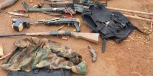 Des armes de terroristes