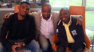 Wilfried ETEKI est un proche du footballeur Samuel Eto'o
