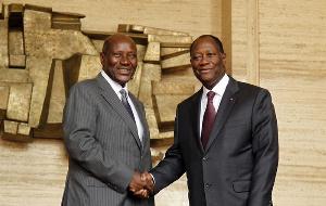 Alassane Ouattara a accepté la démission de son vice-président