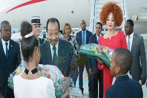 Paul Biya s'est rendu à Paris en France en compagnie de son épouse