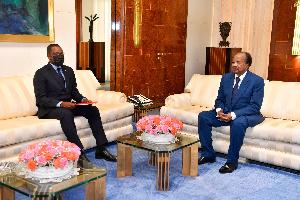 Paul Biya reçoit un émissaire de la Guinée Equatoriale