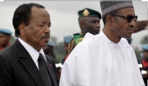 Paul Biya et Muhammadu Buhari