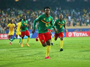 Salomon Banga a donné la victoire au Cameroun face au Zimbabwe