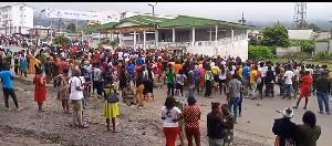 Buea Militaire Gouverneur Okalia Bagarre Cameroun