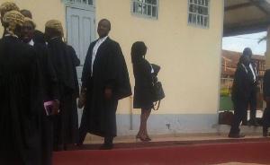 Ils sont jugés par le tribunal militaire de Yaoundé .