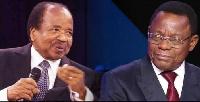 Paul Biya et Maurice Kamto