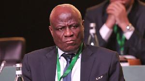 Constant Omari, président par interim de la CAF