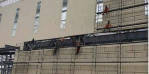 Des ouvriers sur un site de Prometal
