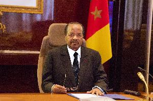 Oaul Biya a fait un discours lors du CSM