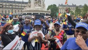La foule à la manifestation