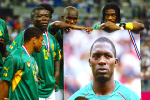 Le 26 juin 2003 à 19h36, Marc-Vivien Foé s'écroule à la 72e minute lors de Cameroun vs Colombie