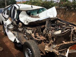Six  camerounais périssent sur les carreaux et de nombreux blessés graves enregistrés.