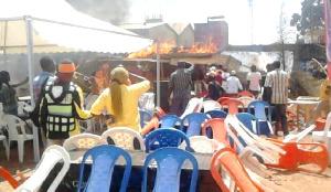 Incendie Ngondo Ngaoundere