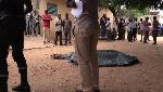 Senegal Lyceenne Professeur Couteau