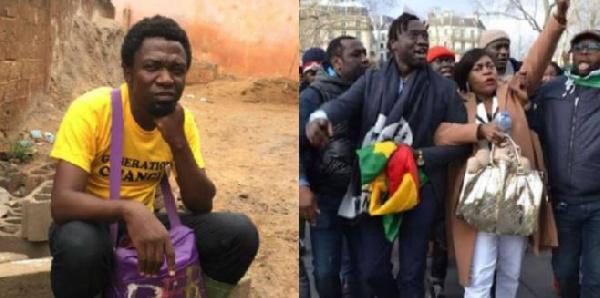 'Dites-lui que son ennemi Franklin Nyamsi Wa Kamerun a essayé cette même tentative'