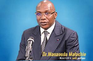 Manaouda Malachie, ministre de la Santé publique