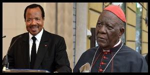 Paul Biya et Monseigneur Tumi