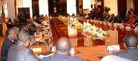 Les ministres de Biya au conseil à Etoudi