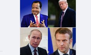La France au Tchad, au Gabon et au Congo  et la Russie en RCA sont déjà installées