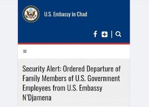 l'Ambassade des Etats Unis insiste, ses ressortissants doivent quitter le pays