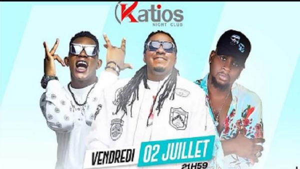 L'affiche du showcase à Katios Night Club