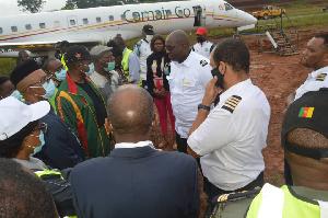 C'est sous la supervision du ministre des transports  Autour de Jean Ernest Ngalle Bibehe
