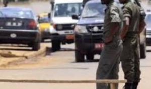 Des gendarmes en patrouille